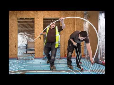 Underfloor heating contributes to sustainable living